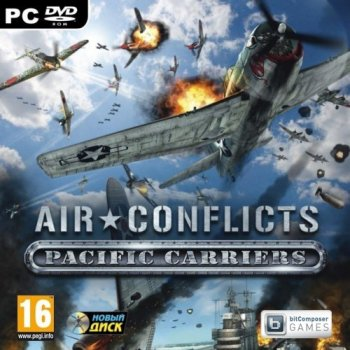 Air Conflicts: Pacific Carriers (2012/RUS/ENG/RePack by SEYTER)