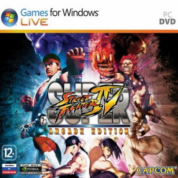 Super Street Fighter 4: Arcade Edition v.1.4.0.1 (2011/RUS/ENG/RePack by Fenixx)