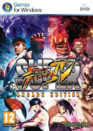 Super Street Fighter IV Arcade Edition (2011/RUS/ENG/Repack от Fenixx)
