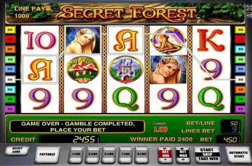 Играть в Secret Forest