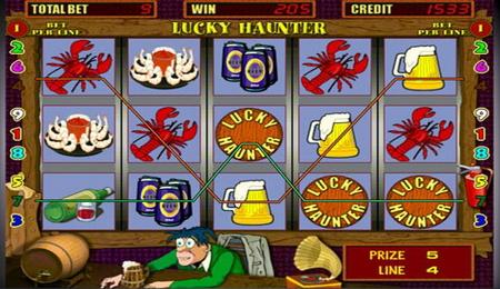 Игровой аппарат Lucky Haunter
