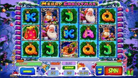 игровой аппарат Merry Christmas