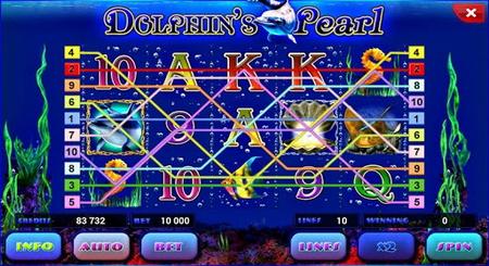 игровой аппарат Dolphin s Pearl