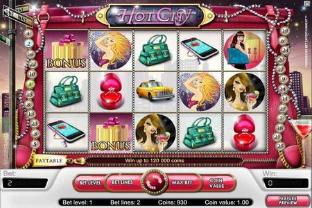 Игровой аппарат HotCity