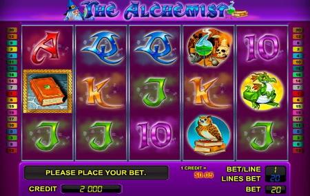 игровой аппарат The Alchemist